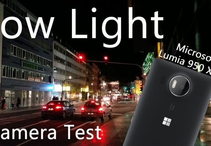 "Microsoft Lumia 950 XL – ""Low Light"" 4K Videotest beeindruckt"