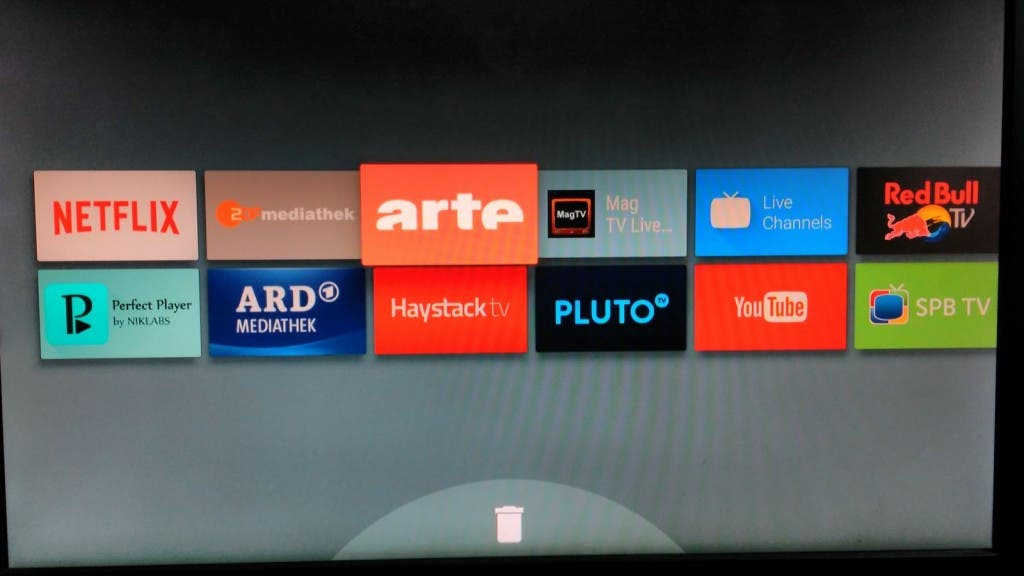 Android TV Homescreen 2