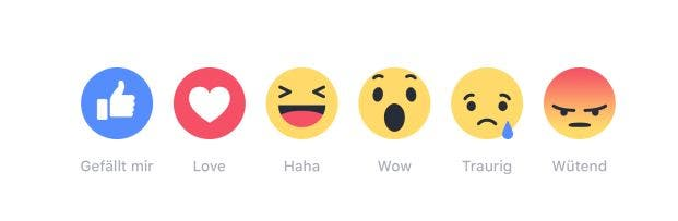 Facebook Reactions Deutsch 2