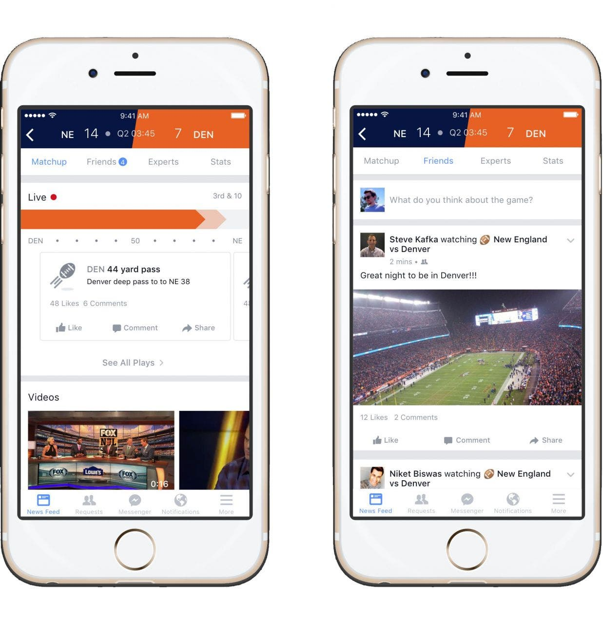 Facebook Sports Stadium Screenshot 01