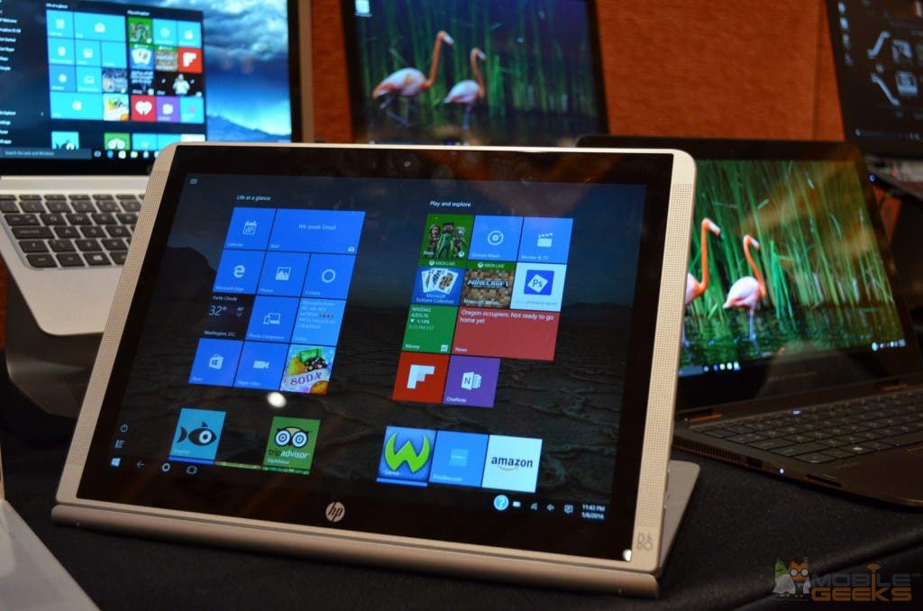 HP Pavilion x2 im Media-Modus