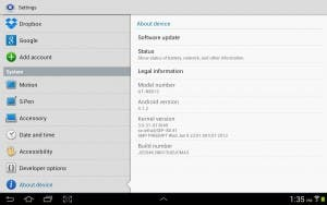Samsung Galaxy Note 10.1 5