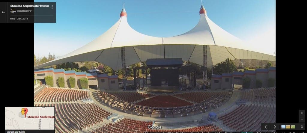 Shoreline Amphitheatre in Mountain View