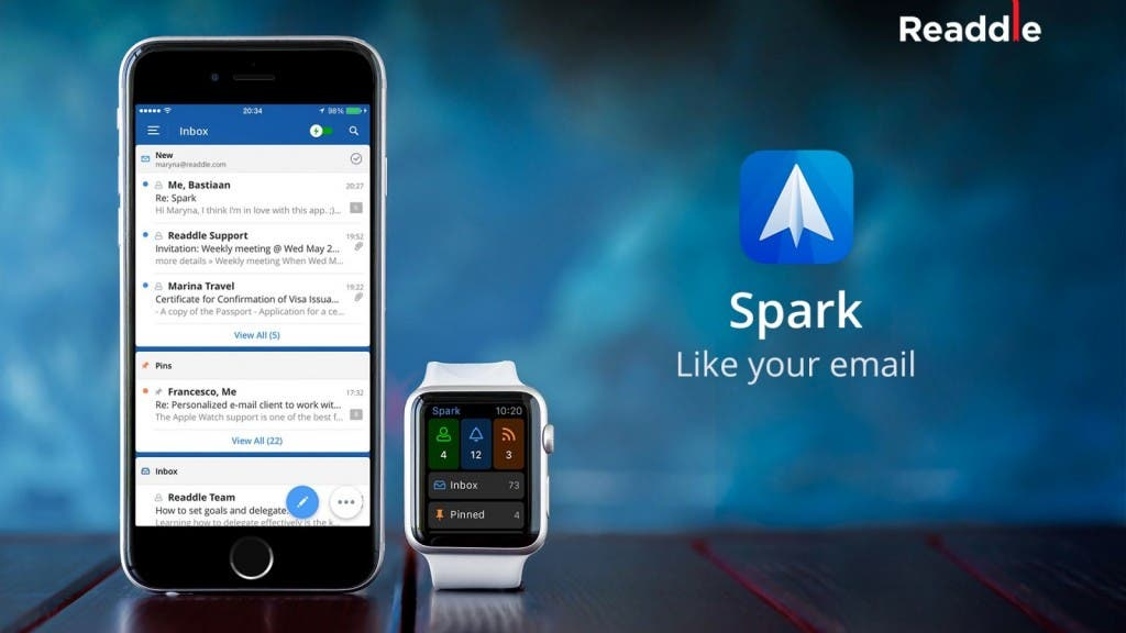 Spark iOS iPhone Apple Watch