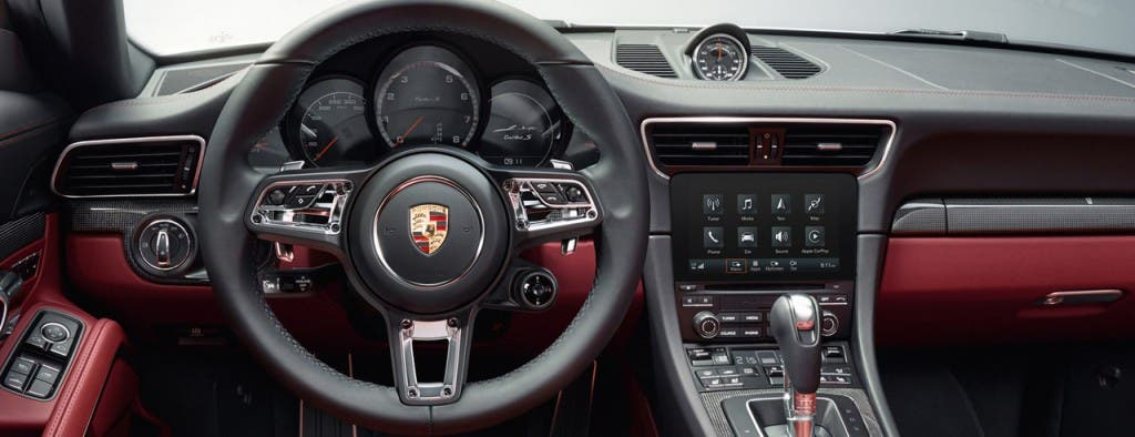Porsche 911 turbo S Cockpit