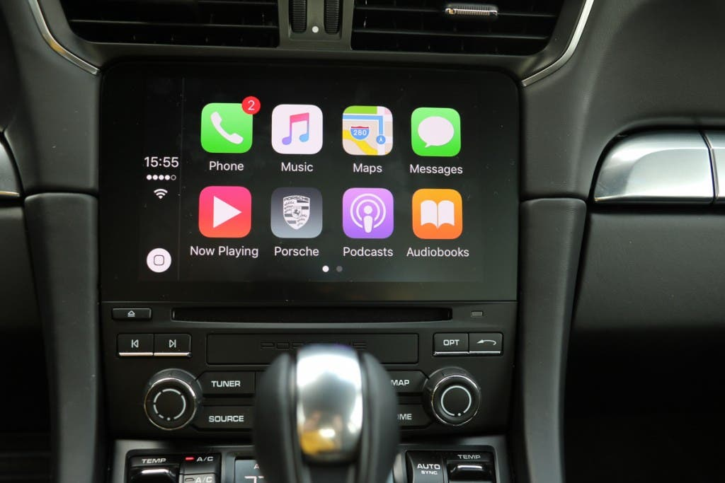 Apple CarPlay im Porsche 911 Turbo S