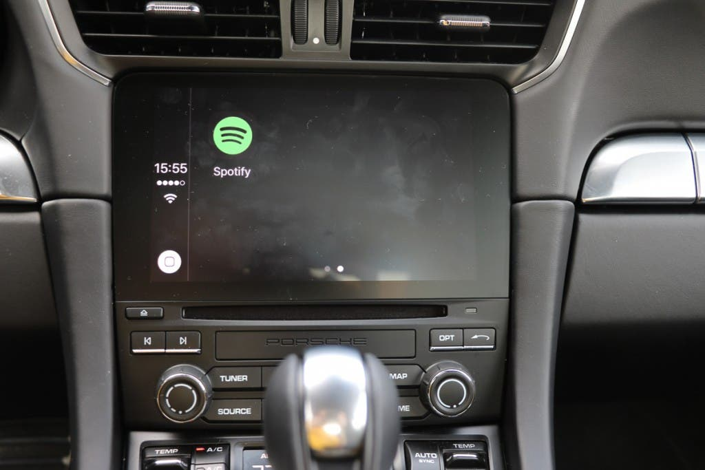 Spotify App über Apple CarPlay
