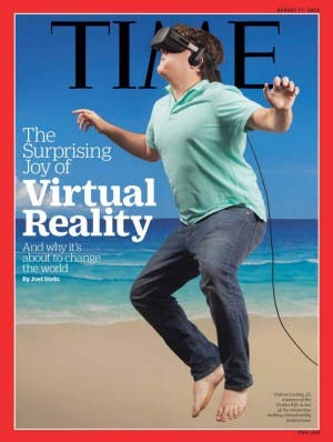 Palmer Luckey auf dem Time-Cover