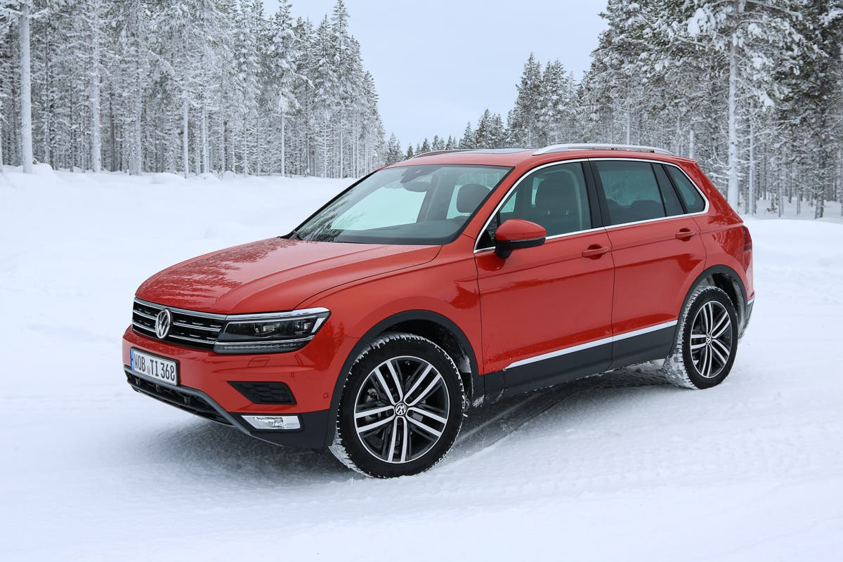 2016 Vw Tiguan Test