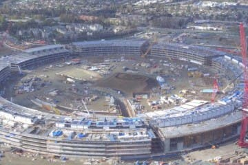 Apple Campus 2 im Februar 2016