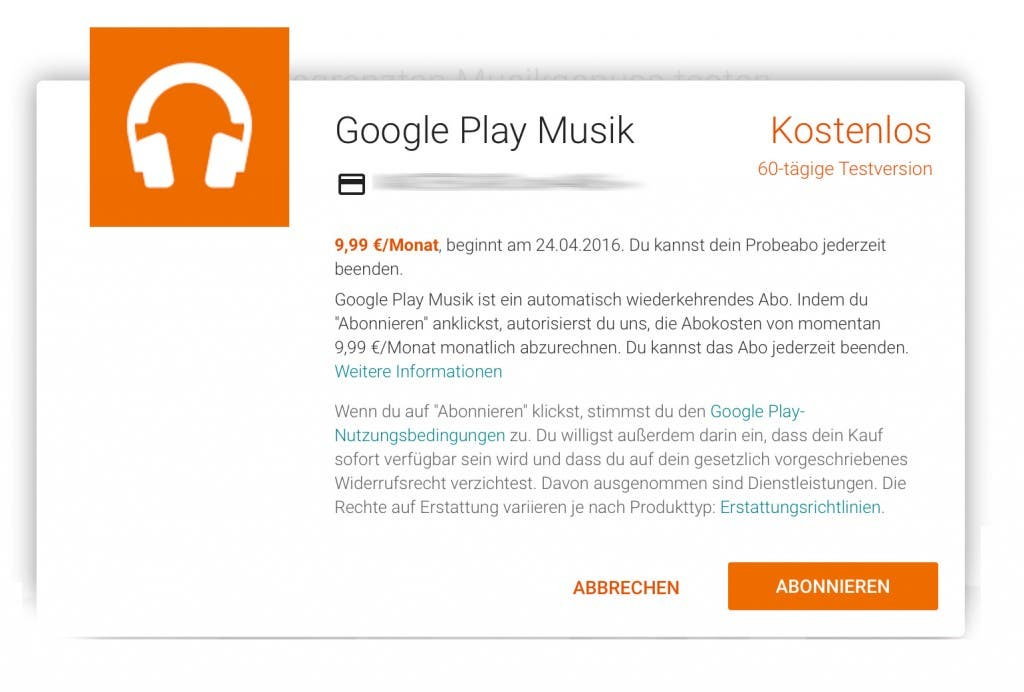 Google Play Music 2 Monate kostenlos