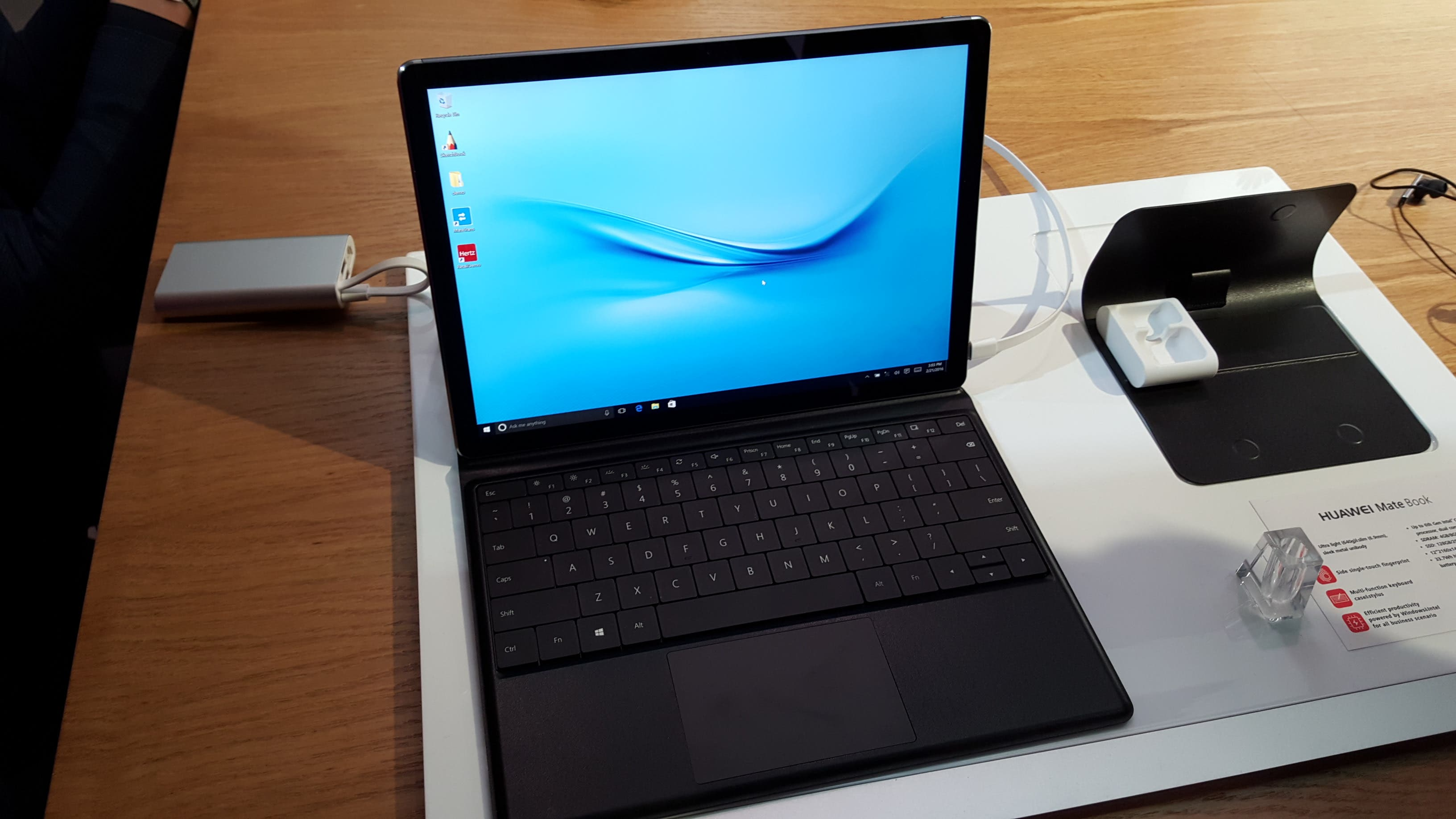 Huawei Matebook in First Test