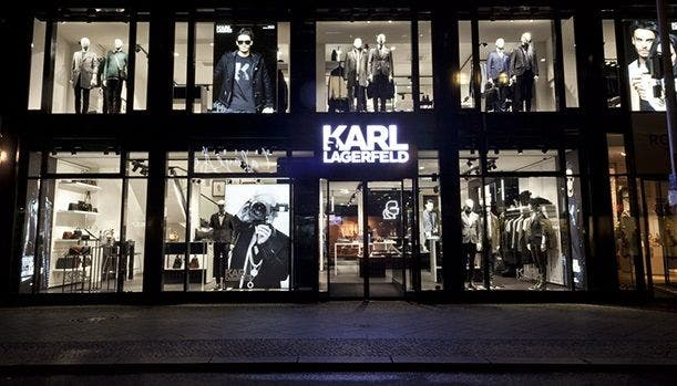 Lagerfeld Store in Berlin
