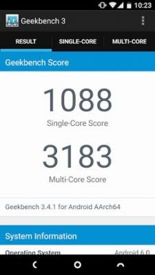 Nextbit Robin Benchmark Screenshot
