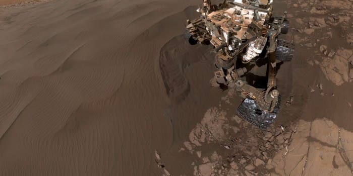 Nasa Curiosity: 360° Virtual-Reality Video vom Mars