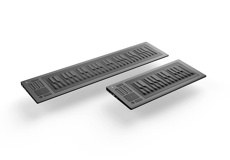Seaboard RISE 25 + 49 Angle Left High Resolution