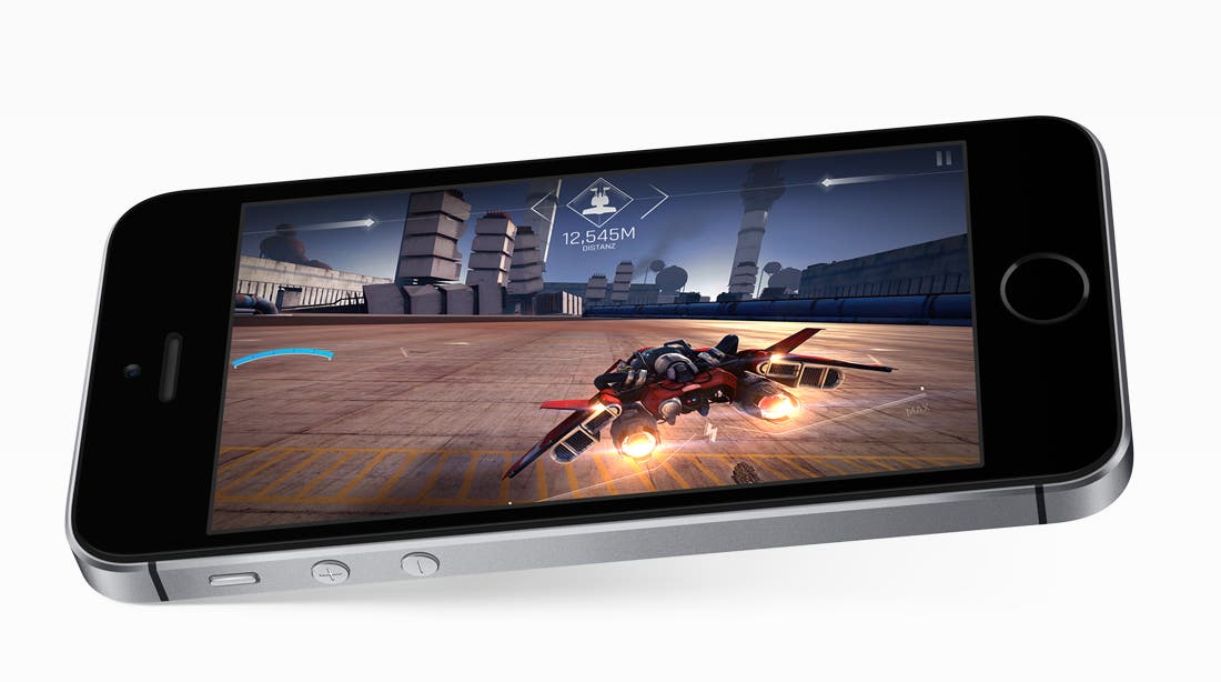 Apple iPhone SE Spiele