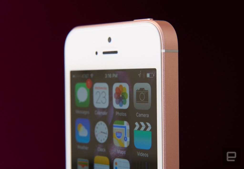 Apple iPhone SE Engadget