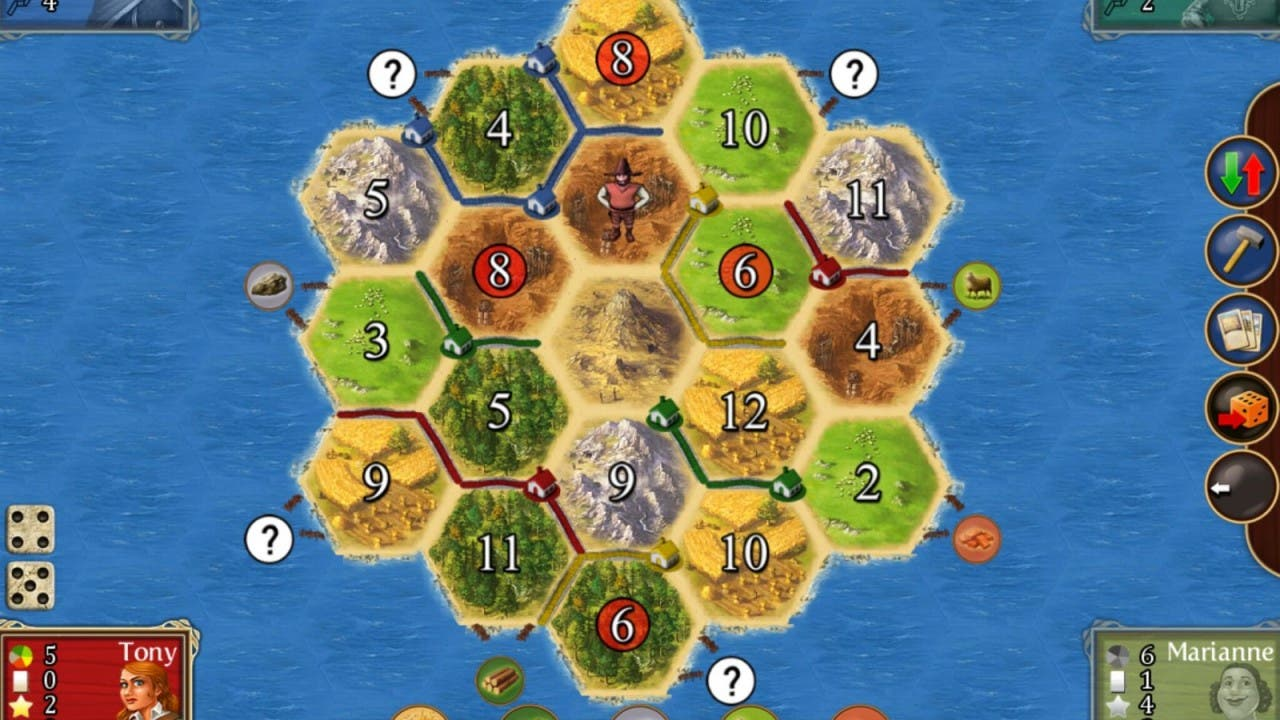 Screenshot Catan