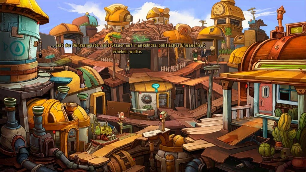 Screenshot Deponia