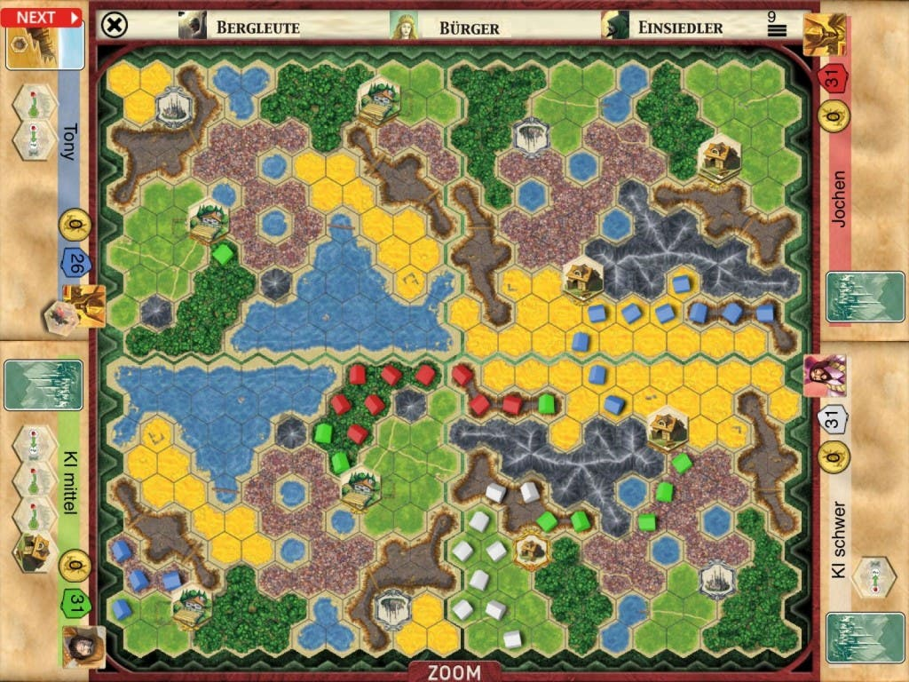 Screenshot Kingdom Builder