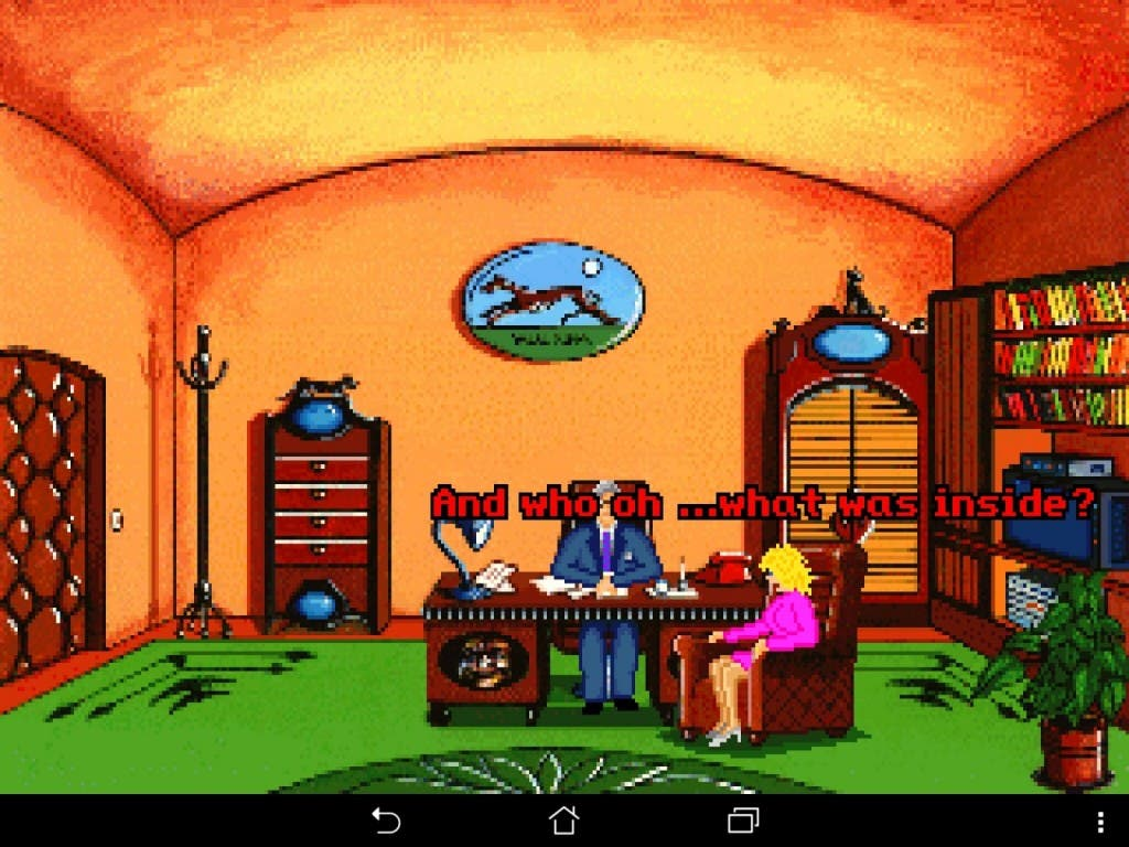 Teenagend ScummVM Screenshot