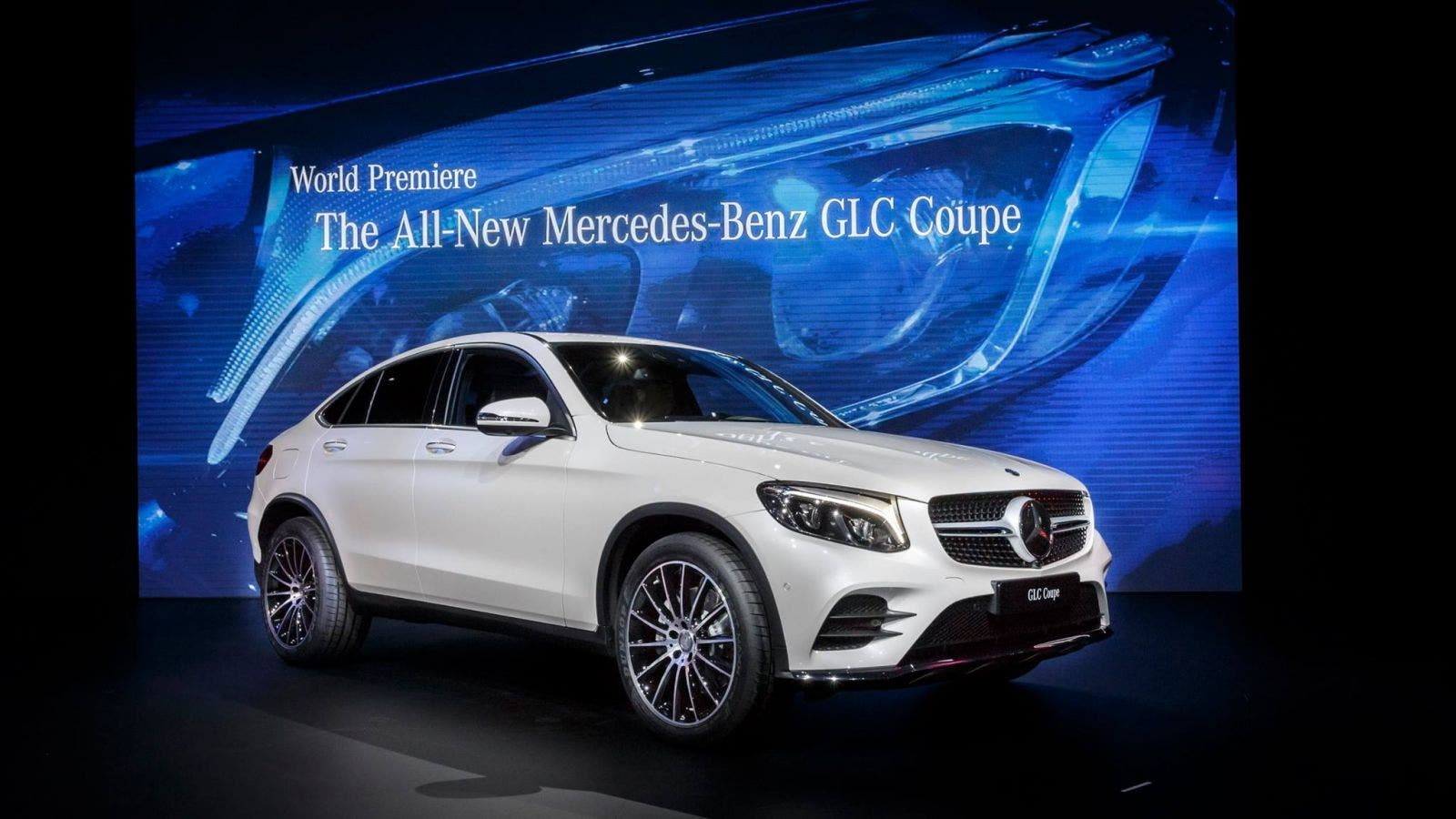 mercedes benz glc coup und weitere nyias 2016 highlights. Black Bedroom Furniture Sets. Home Design Ideas