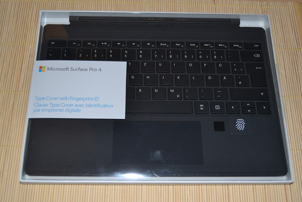 Microsoft Surface TypeCover with Fingerprint ID