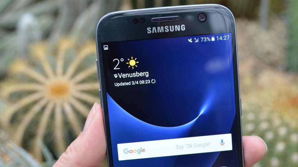 Display des Galaxy S7