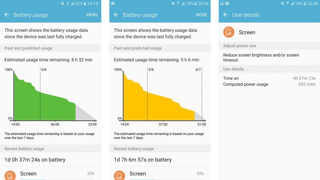 s7-battery-usage