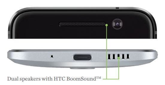 HTC 10 BoomSound Speaker