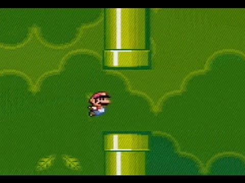 Flappy Bird goes Super Mario World