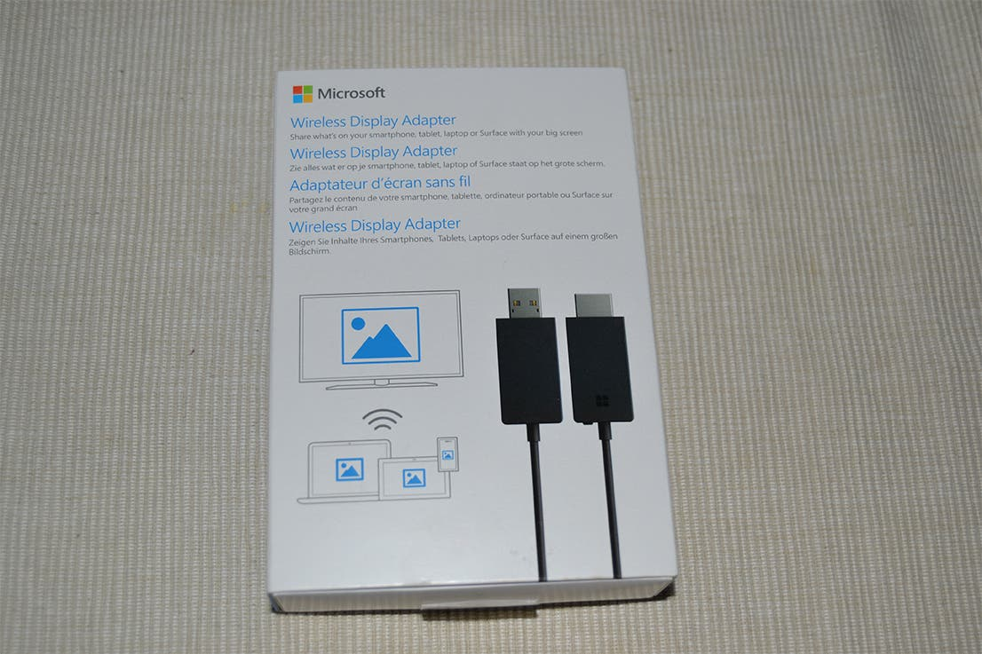 how to use microsoft wireless display adapter with windows 10