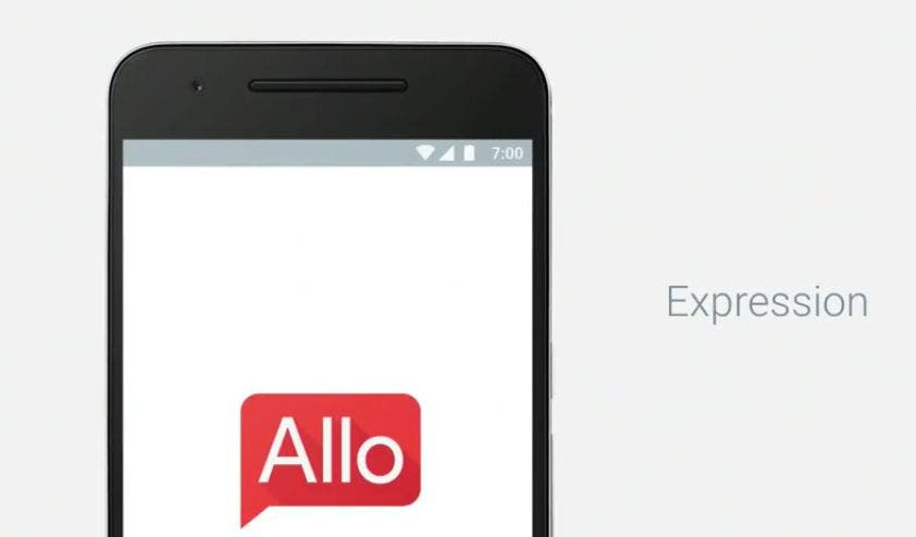Android Allo 7 Uhr