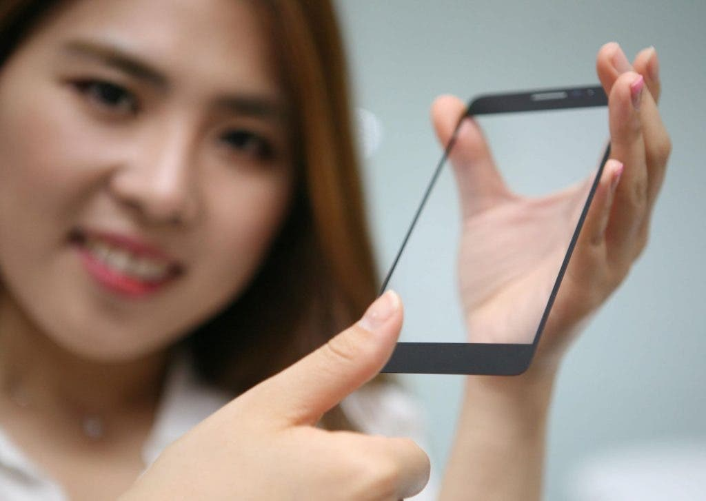 [Photo 2] LG Innotek introduces cover glass which is embeded fingerprint sensor module