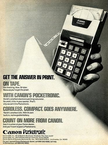 canon-pocketronic-calculator