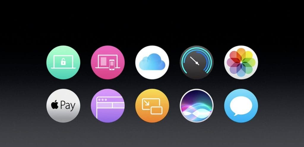 Apple WWDC16 macOS Features