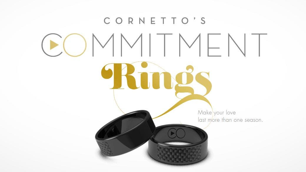 Streaming Commitment Rings