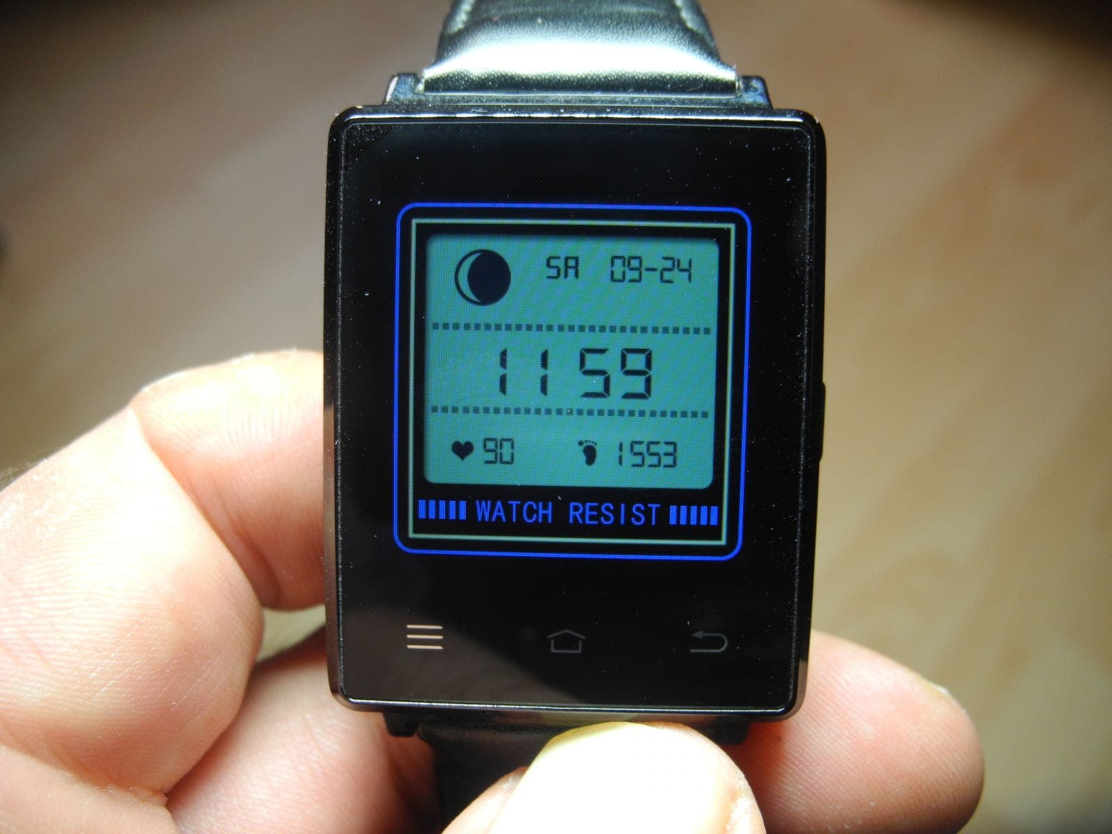No. 1 D6 Smartwatch Watchface