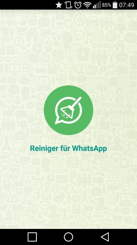 Reiniger für WhatsApp Screenshot