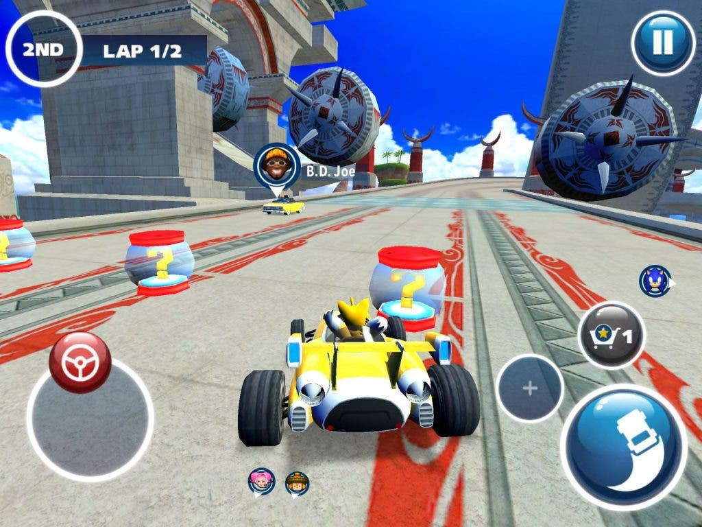 Sonic & Sega Recing Transformed Screenshot