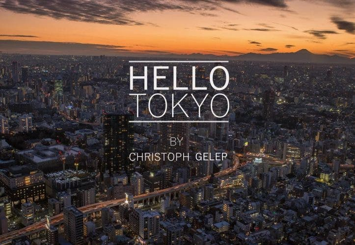 Via Hyperlapse-Video durch Tokio