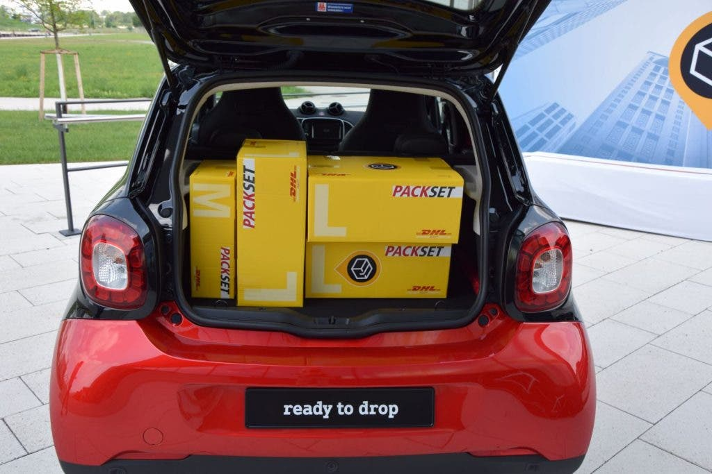 Smart ready to drop Pakete