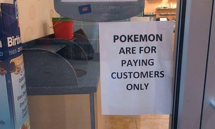 Pokemon Paying Customers