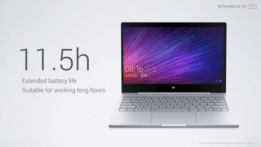Xiaomi Mi Notebook Air 35