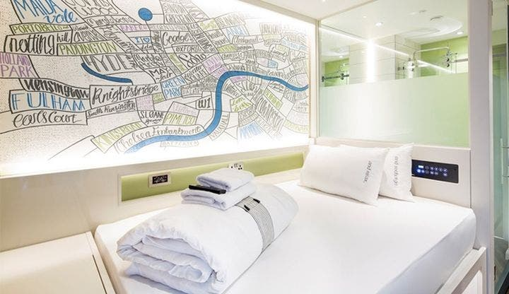 Zimmer im hub by Premier Inn London Covent Garden
