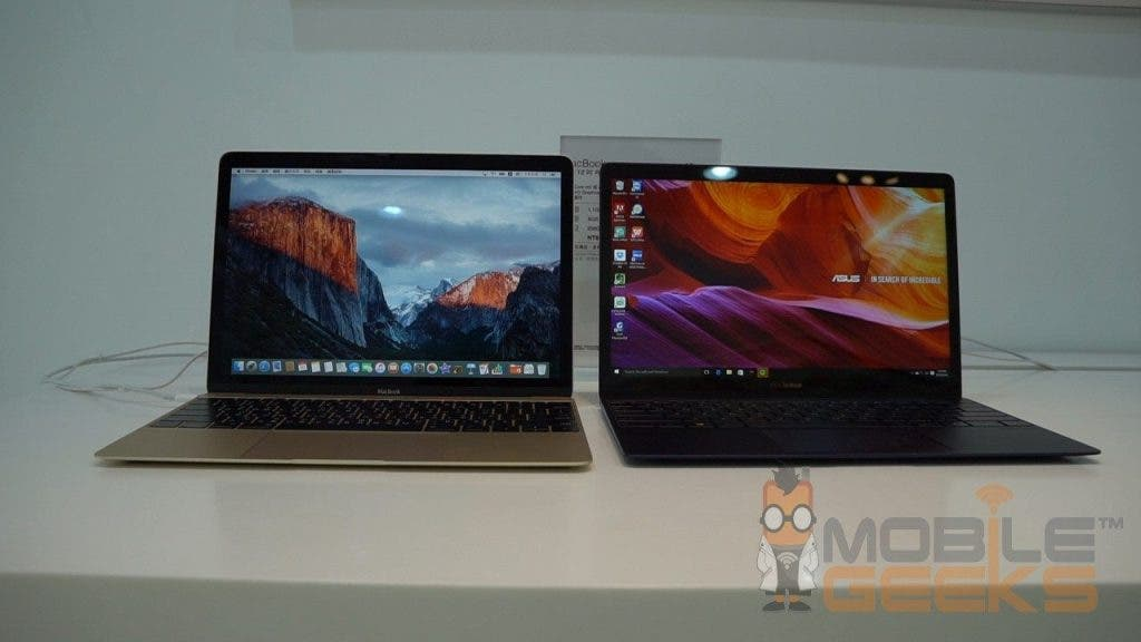 ASUS ZenBook 3 vs Apple Macbook 16