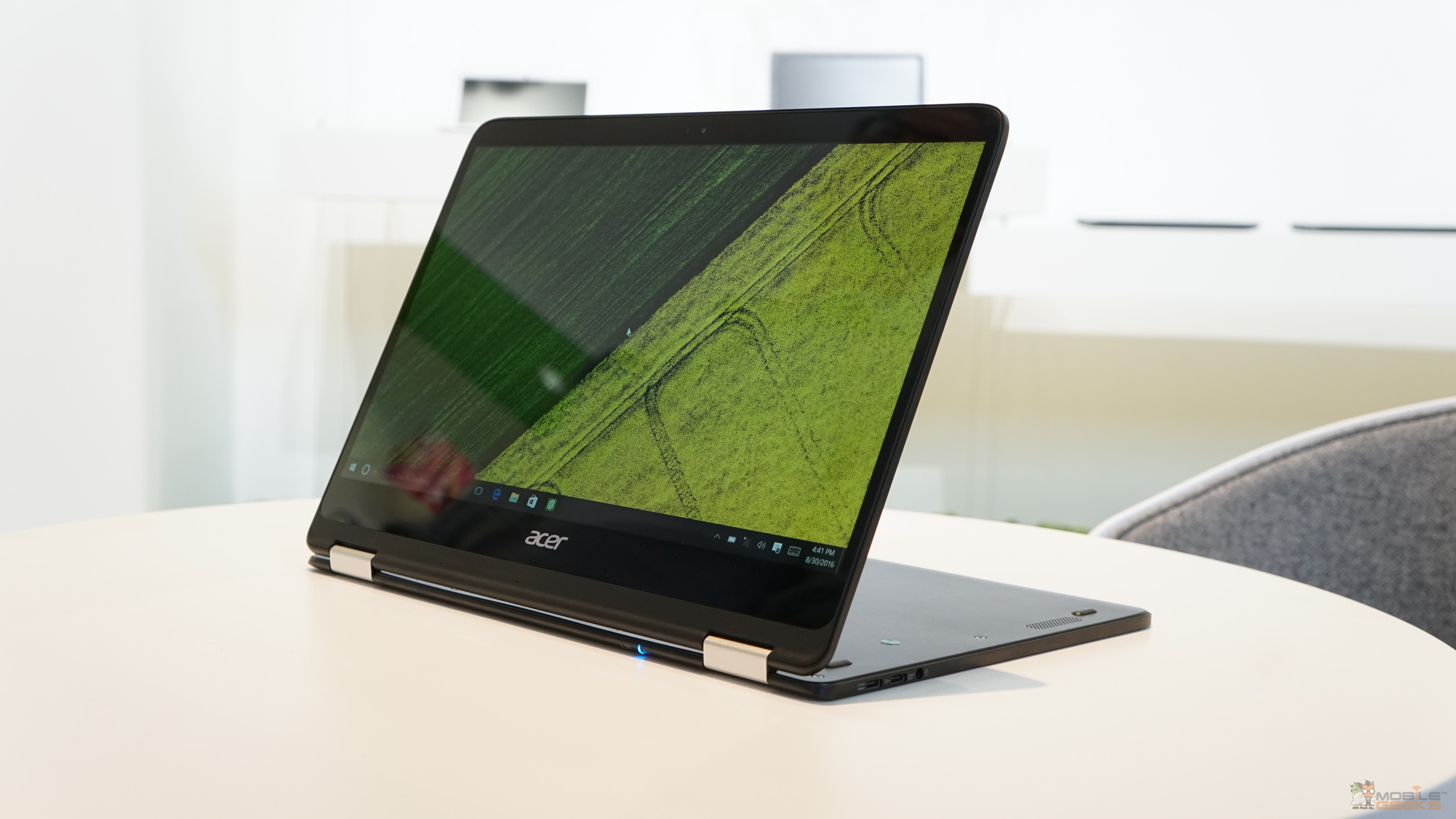 Acer Spin 7 Convertible Notebook Im Hands On Video