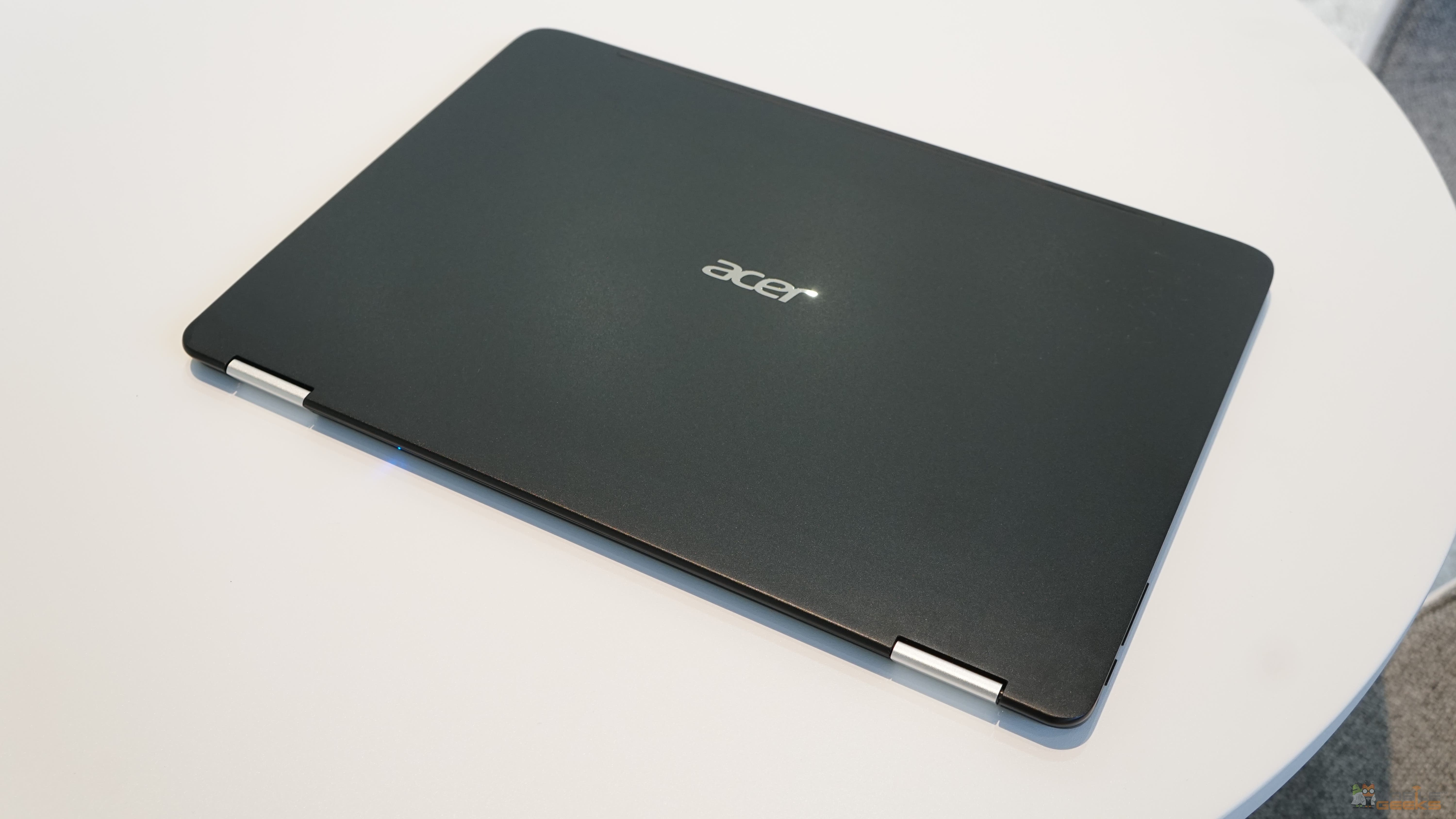 acer spin 7 convertible notebook im hands on video. Black Bedroom Furniture Sets. Home Design Ideas