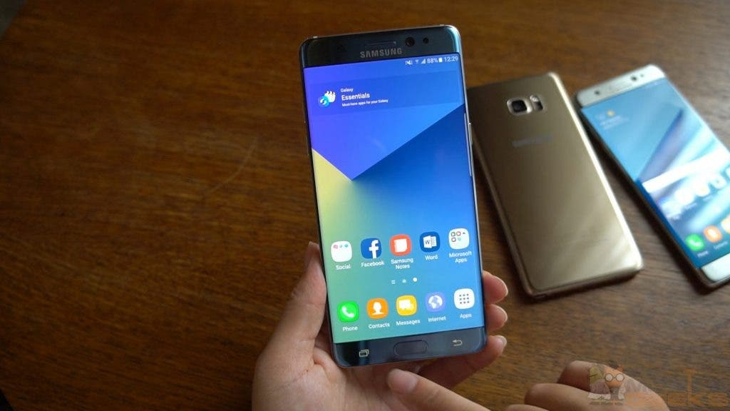 samsung galaxy note 7 foto